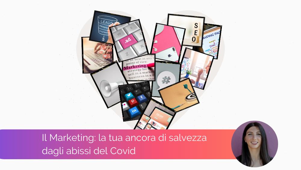 collage a cuore di foto sul Digital Marketing