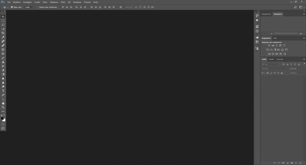 Canva VS Photoshop interfaccia